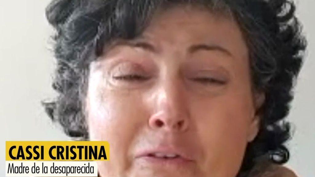 El desesperado mensaje de la madre de Estela Cristina, desaparecida en Barajas