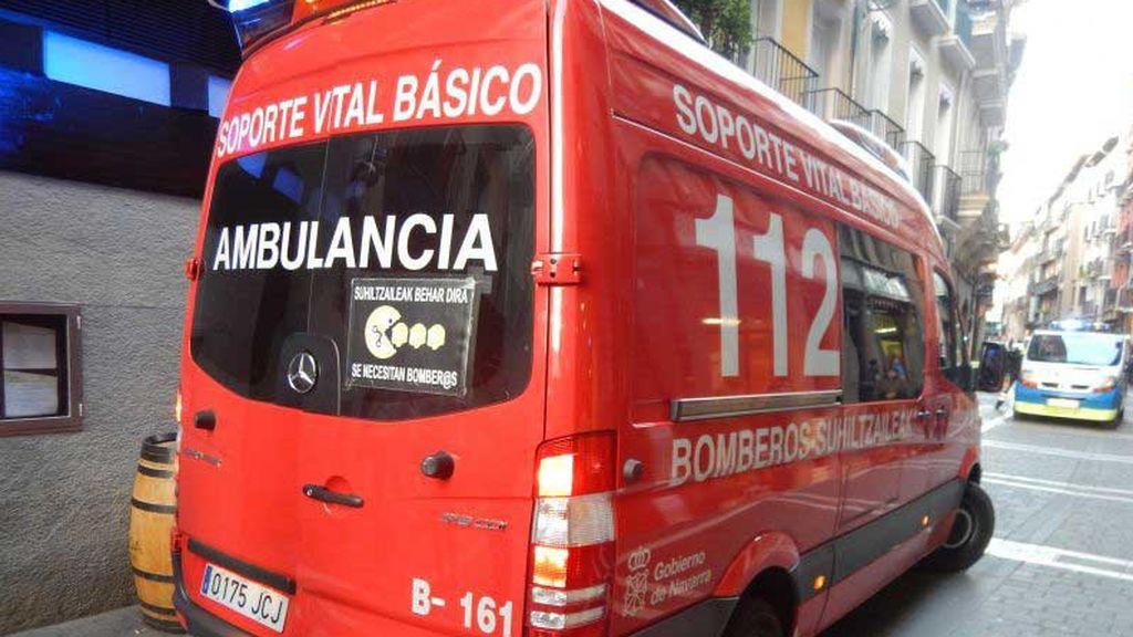 Cuatro miembros de una misma familia intoxicados con monóxido de carbono en su casa de Pamplona