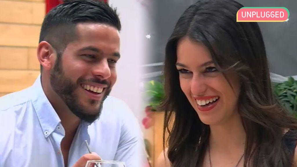 Dani y Xantal en 'First dates'
