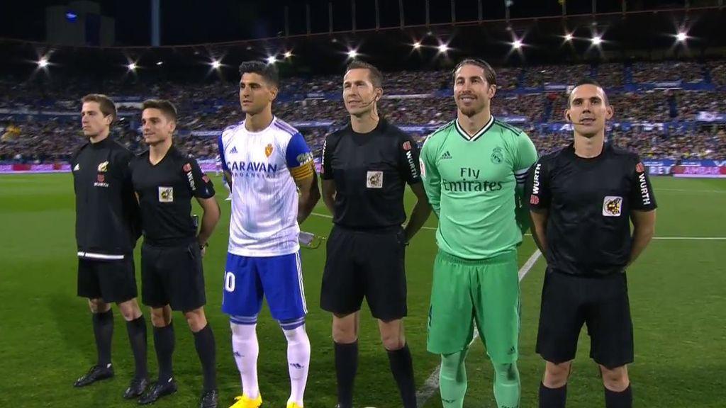 El Real Zaragoza-Real Madrid de Copa del Rey, emisión más vista del miércoles