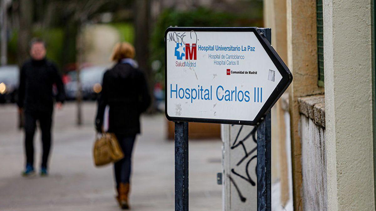 El Hospital Carlos III acogerá a los posibles portadores del coronavirus que estén más graves