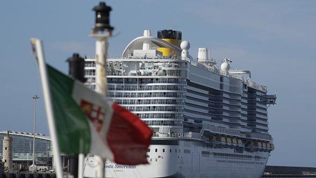 Descartado: la mujer del crucero varado en Civitavecchia no tiene coronavirus