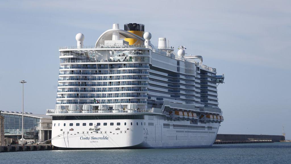 Descartan el coronavirus en el crucero inmovilizado en Roma