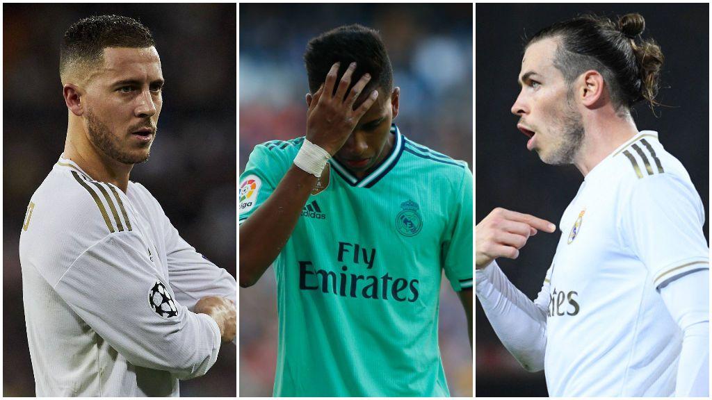 Bale, Hazard y Rodrygo, los grandes ausentes en el derbi contra el Atlético de Madrid