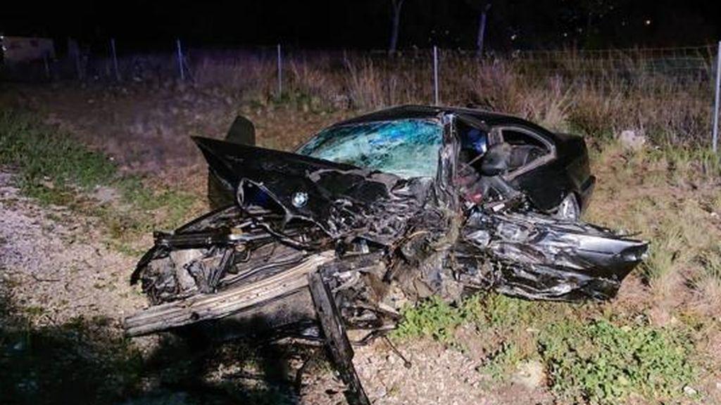 Un accidente kamikaze en la A7 deja dos muertos a la altura de Picassent