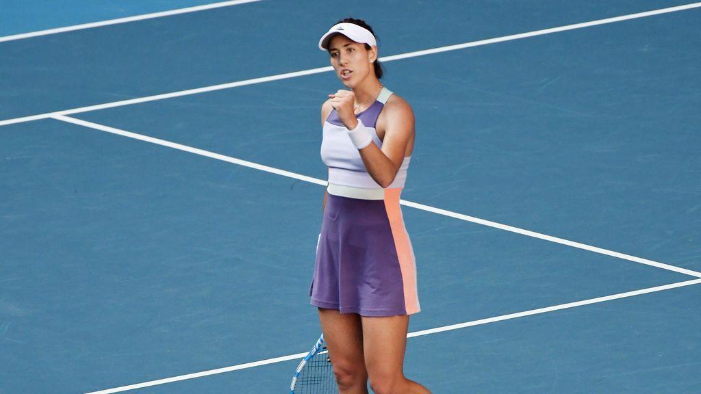 """Garbiñe Muguruza, a un partido de ganar el Open de Australia: """"No quiero obsesionarme con la final"""""""