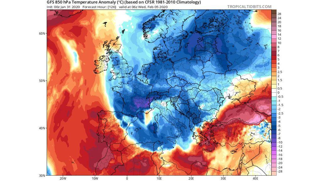 aire polar europa miercoles