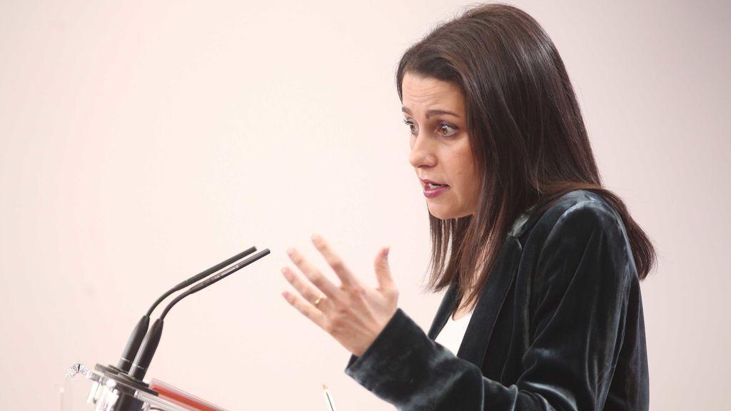 Inés Arrimadas propone listas conjuntas en Galicia, Cataluña y País Vasco