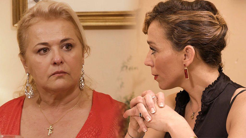 Maribel intenta echar a Maite de su casa