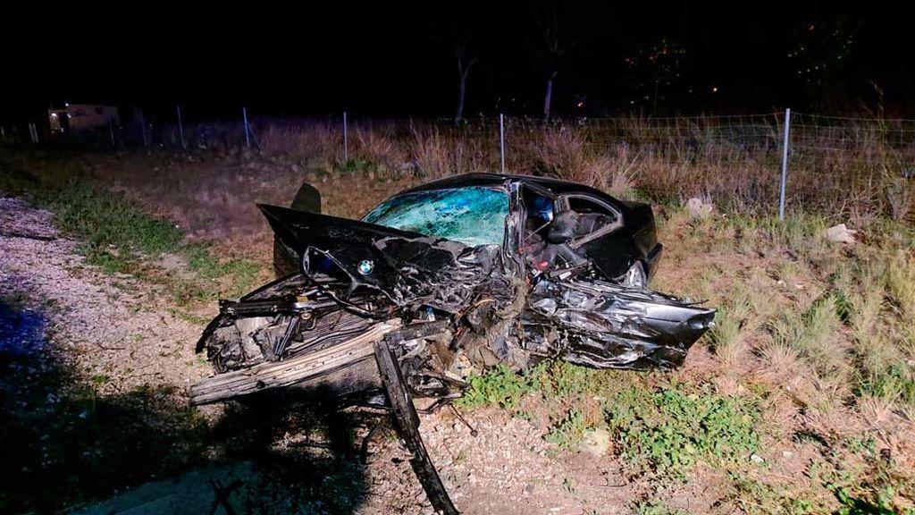 Dos muertos en un accidente causado por un kamikaze en la autovía A-7 en Picassent