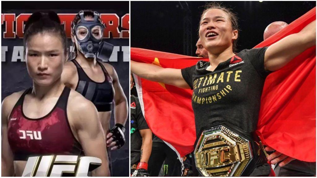 Una luchadora de la UFC se mofa de su rival china por el coronavirus antes de su combate por el título