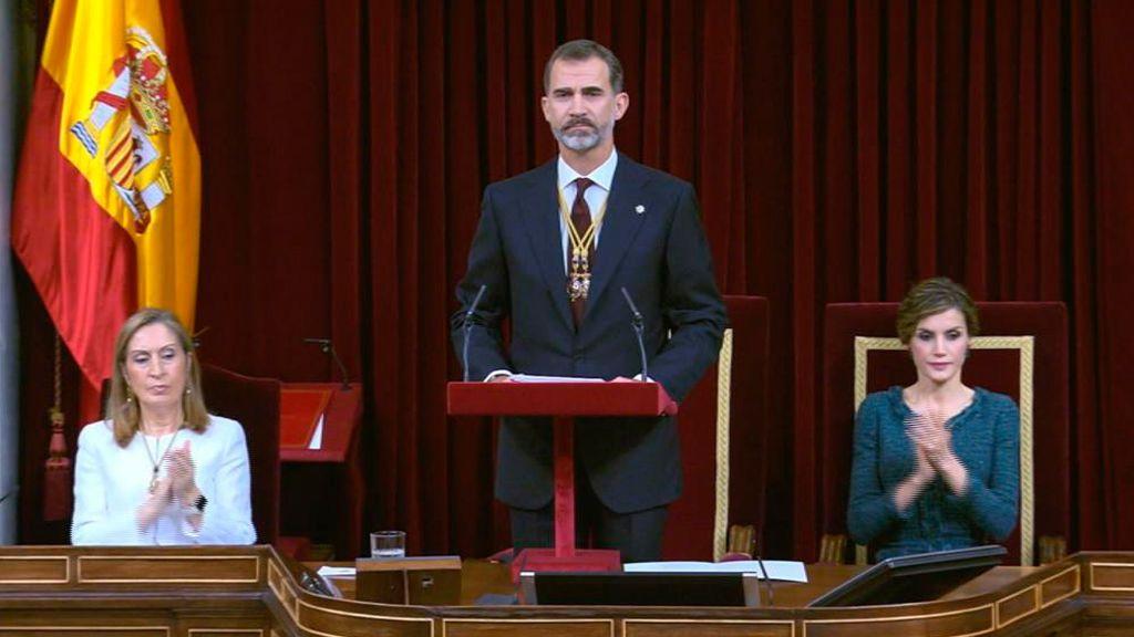 Así fue la apertura solemne de la XII Legislatura en 2016