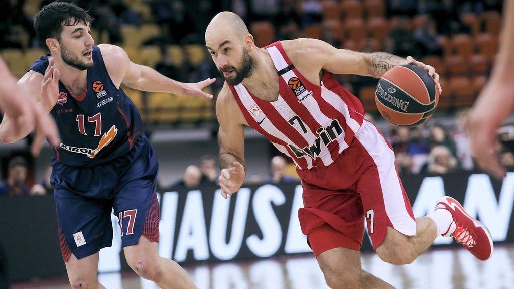 El Baskonia cae en Grecia con un gran partido desde fuera de Spanoulis
