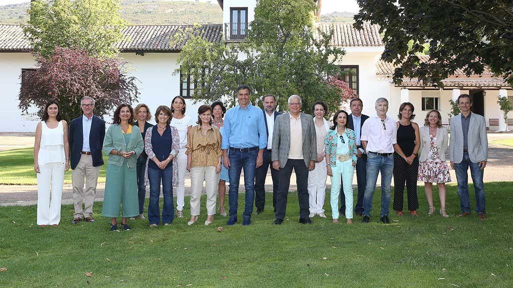 El presidente Sánchez se va de convivencia con sus ministros en la finca de Quintos de Mora