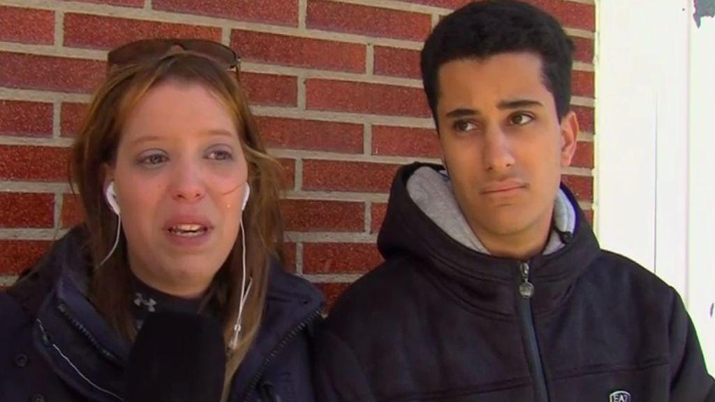 La presunta parricida de Logroño habla con sus hermanos