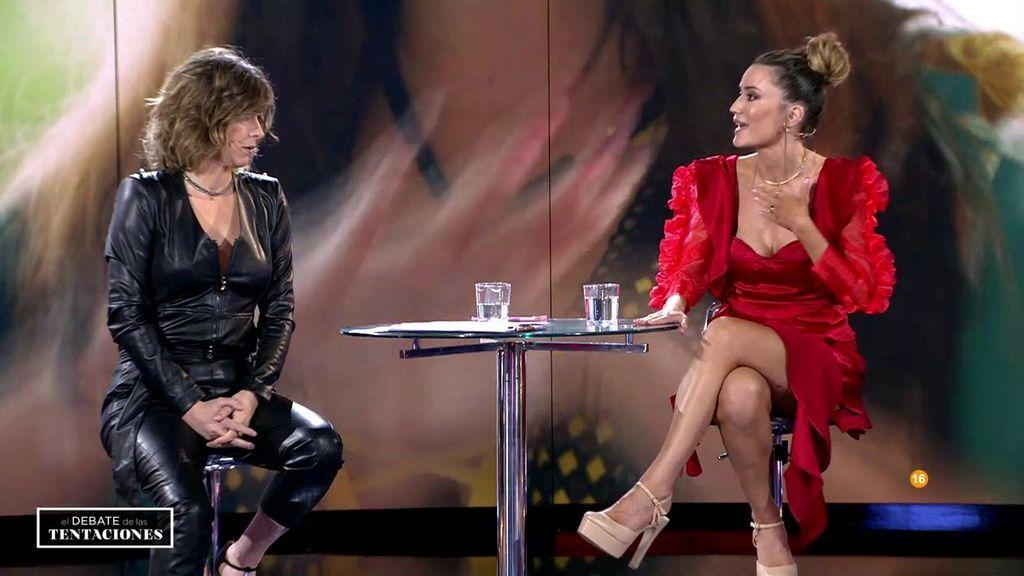 """La reprimenda de Sandra Barneda a Casandra: """"La definición de 'mujer' que has hecho es del siglo XIX"""""""