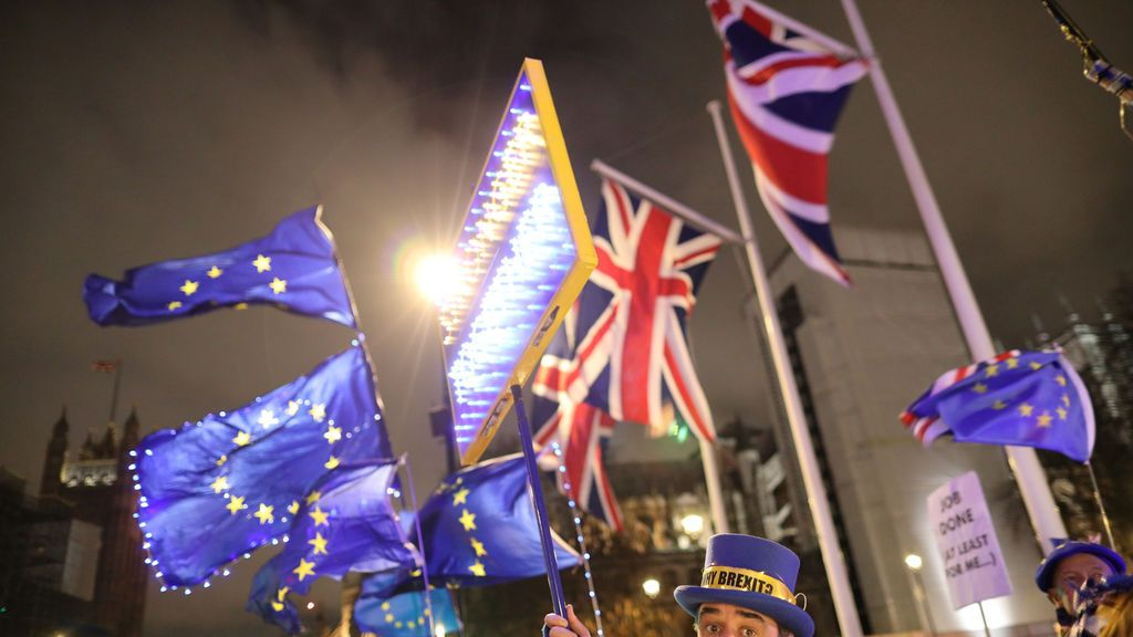 """La bandera británica en la UE será arriada por """"personas desconocidas"""""""