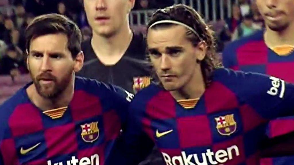 Antoine Griezmann, el '9' del Barça