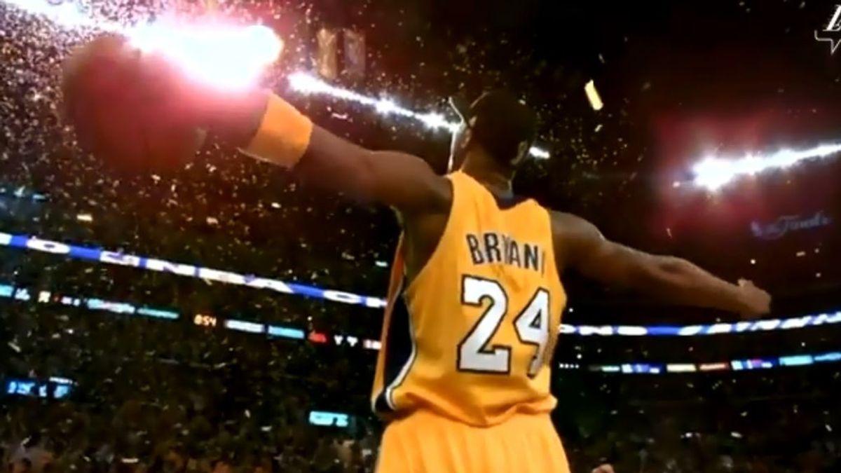 """El emotivo homenaje de Los Ángeles Lakers a Kobe Bryant: """"No serás olvidado"""""""