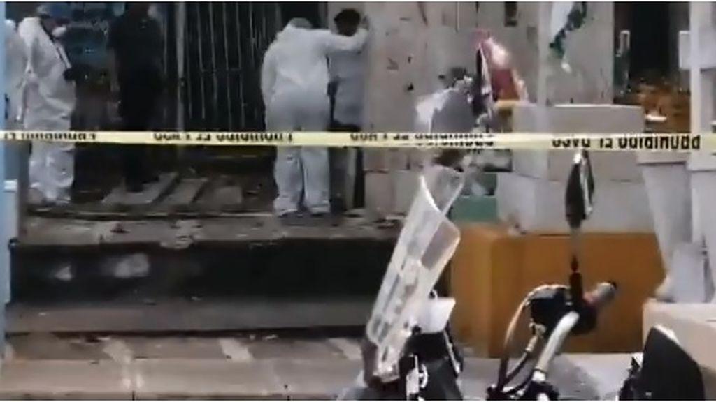 Hallan el cadáver de una mujer desmembrada en el interior de una cripta