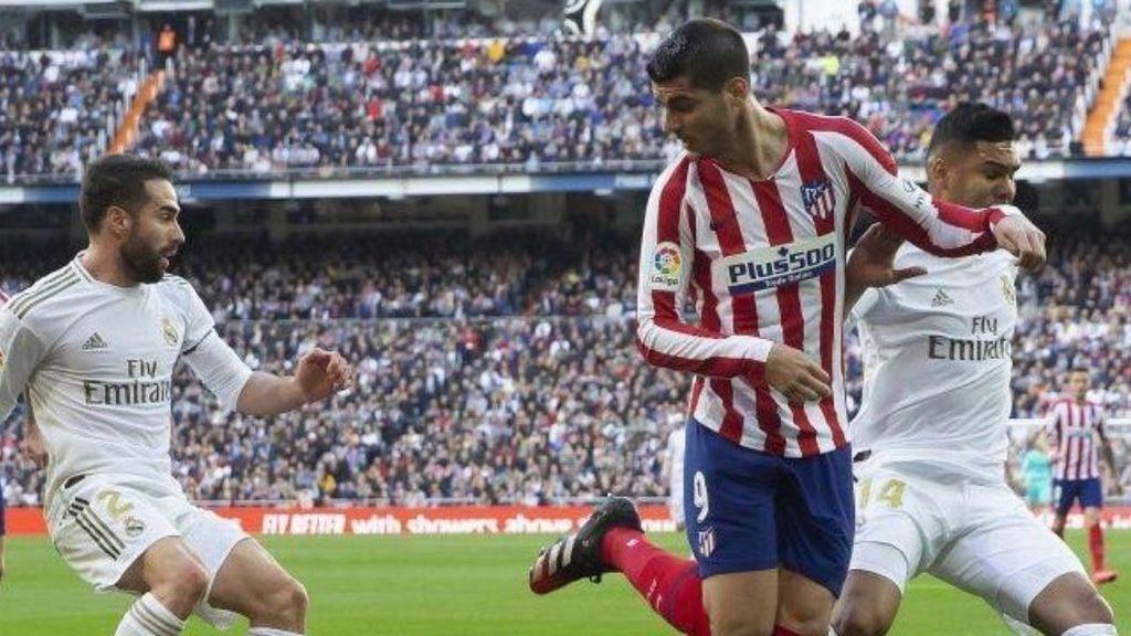 """Morata presume de sentimiento atlético con la foto del posible penalti: """"Orgulloso de ser un indio"""""""