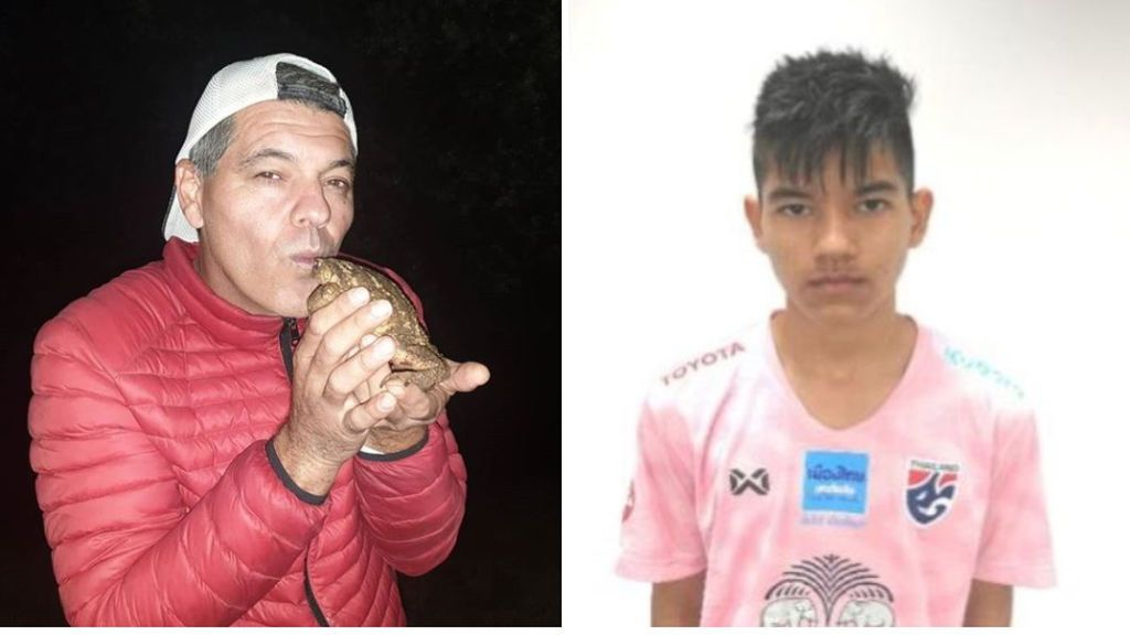 La vida deportiva de Zape, hijo de Frank Cuesta: juega en la academia del Alcorcón y debutará con la selección de Tailandia