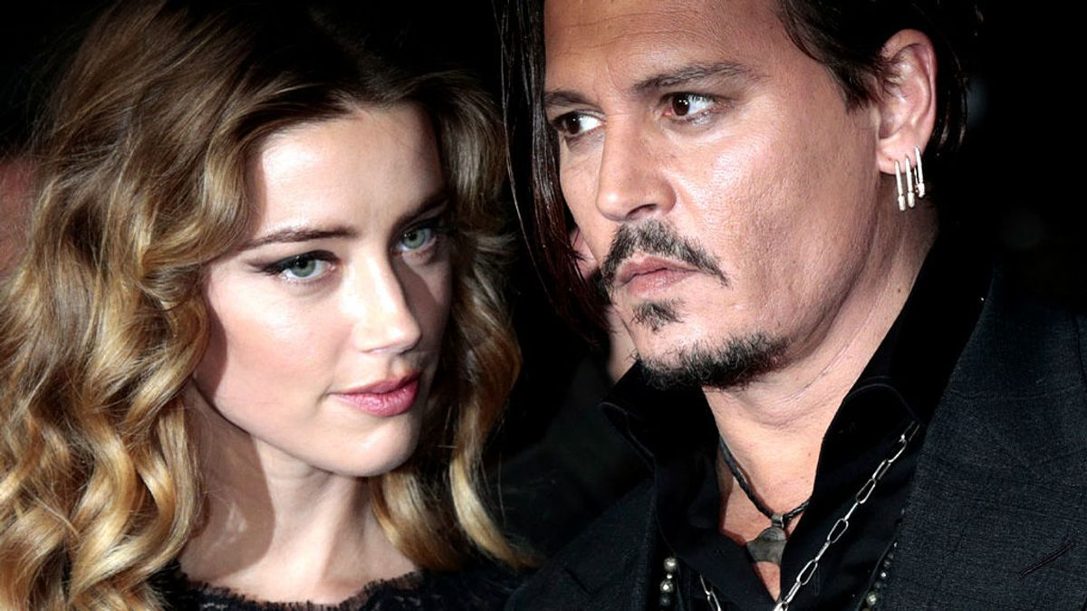 Filtran una grabación que prueba la violenta y tóxica relación entre Johnny Deep y Amber Heard