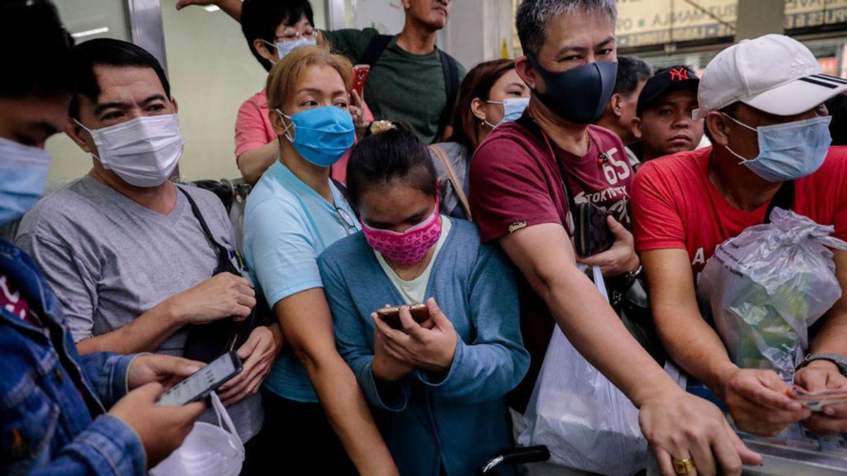 Filipinas registra la primera muerte por coronavirus fuera de China