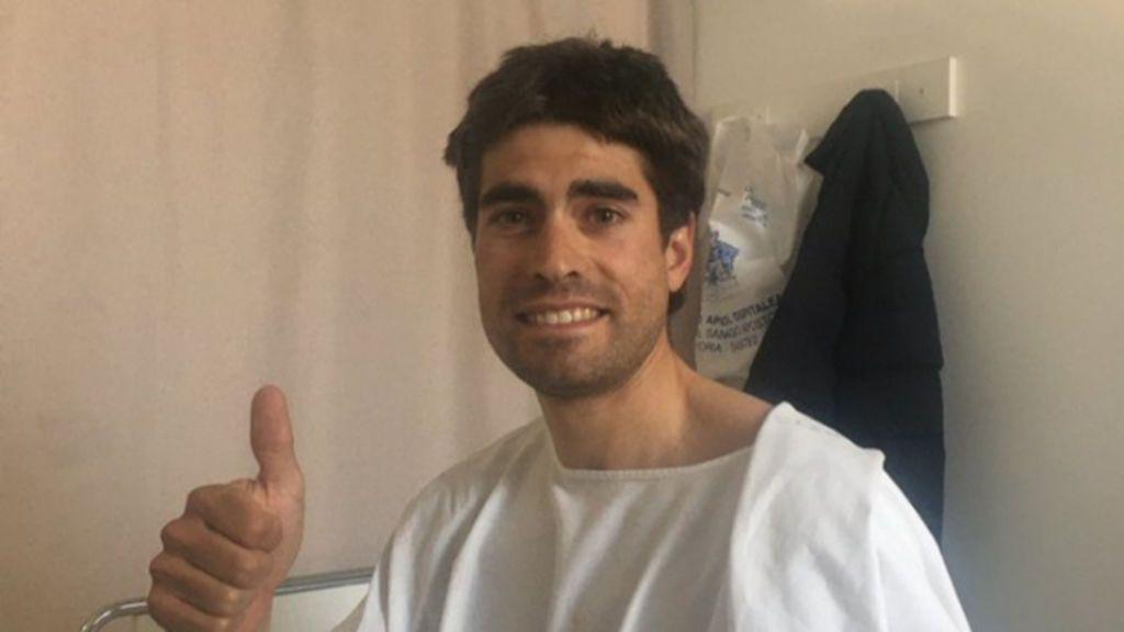 El conductor que atropelló a Mikel Landa, detenido tras darse a la fuga, da positivo en el test de drogas