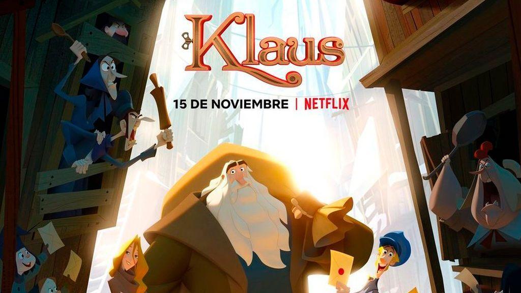 La cinta de animación española 'Klaus' se alza con el premio en los BAFTA