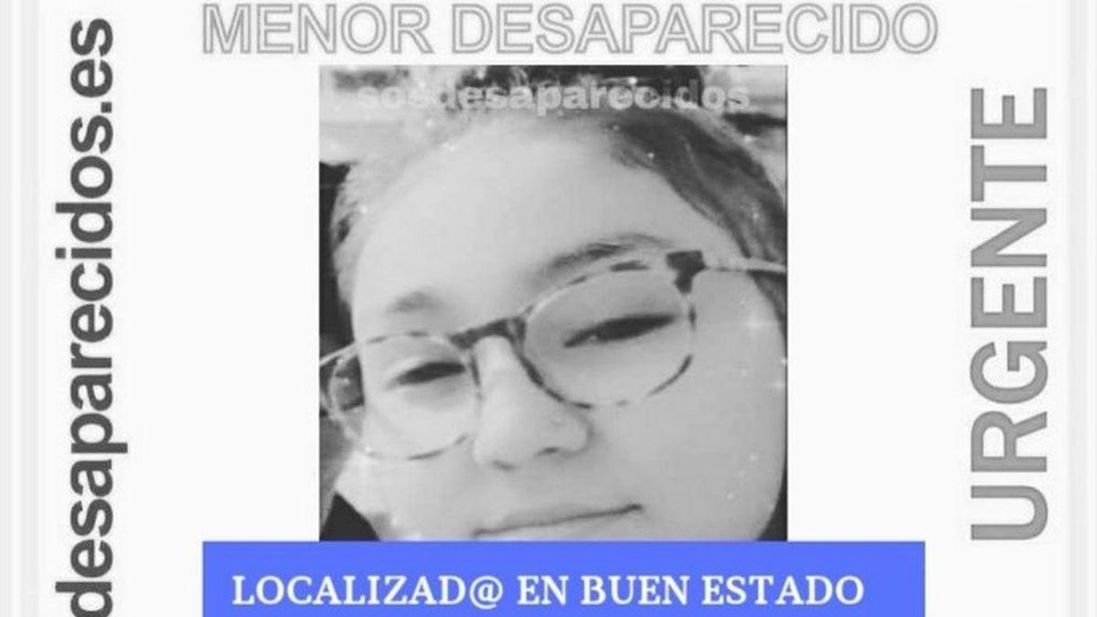 Localizan en buen estado a Amira Khajjou, la menor desaparecida desde el pasado viernes en Madrid