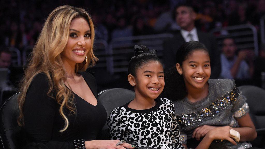 """El mensaje de la viuda de Kobe Bryant a su hija fallecida: """"Verte sonreír, calienta mi corazón"""""""