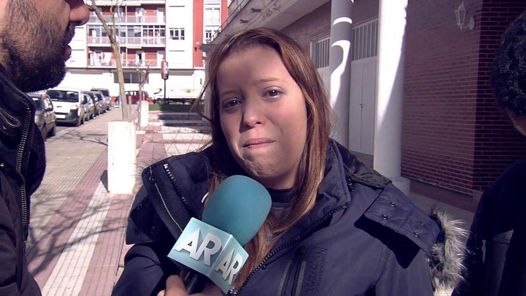 La hermana de la presunta parricida de Logroño está destrozada