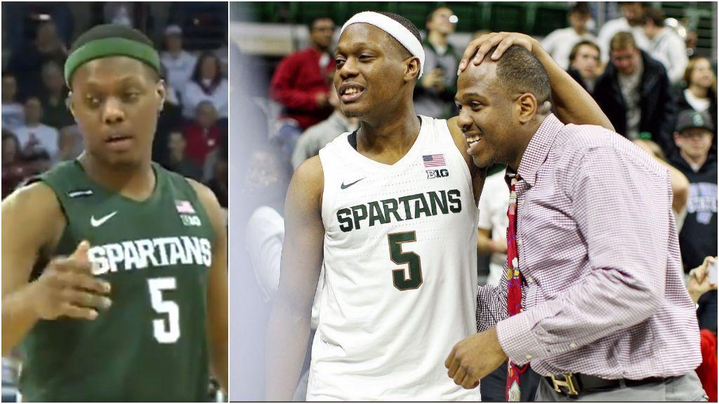 """La futura promesa de la NBA y el saludo antes de cada partido en memoria de su hermano: """"Él está conmigo"""""""