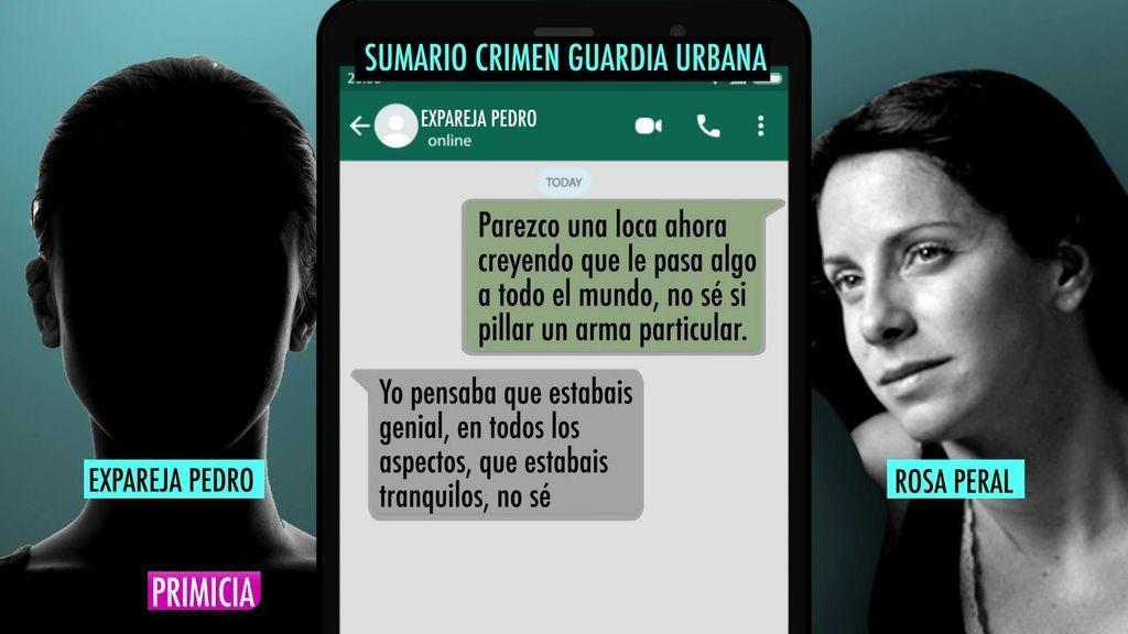 Los mensajes de Rosa Peral a la expareja de la víctima