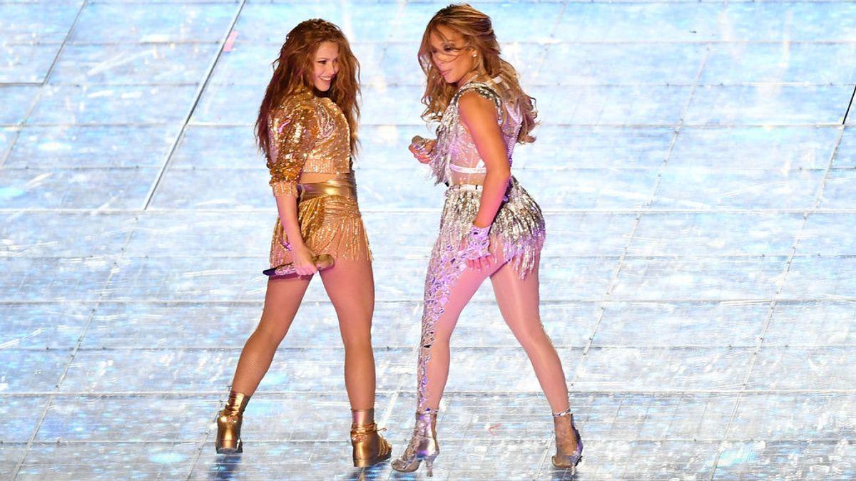 Shakira y Jennifer López enloquecen Miami con su actuación mano a mano en la Super Bowl
