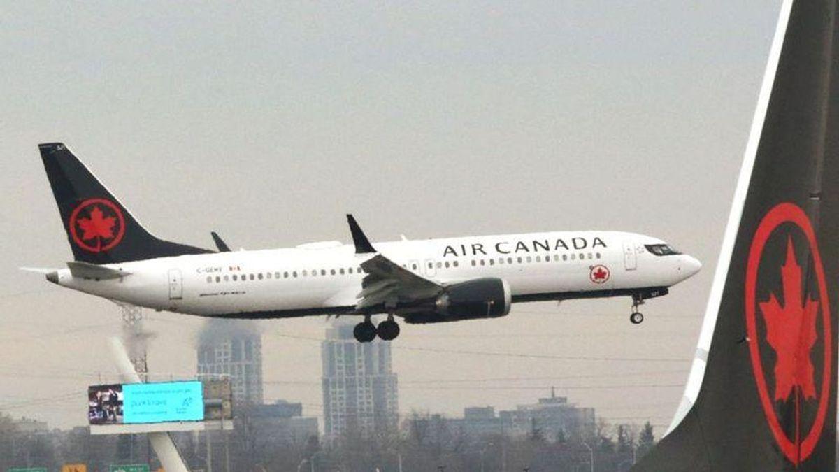 No es la primera vez que un avión de Air Canadá pierde una rueda durante el despegue