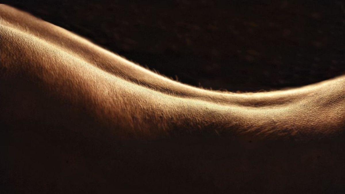 espalda piel de gallina