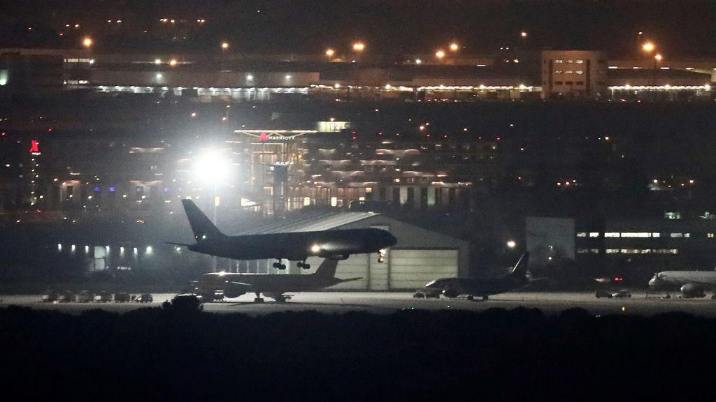El aterrizaje forzoso del AC837 de Air Canada en el aeropuerto de Barajas