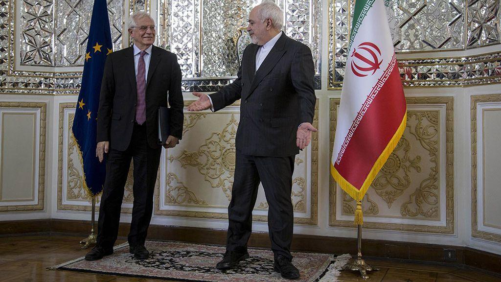 Borrell intenta mantener a Irán lejos del arma nuclear