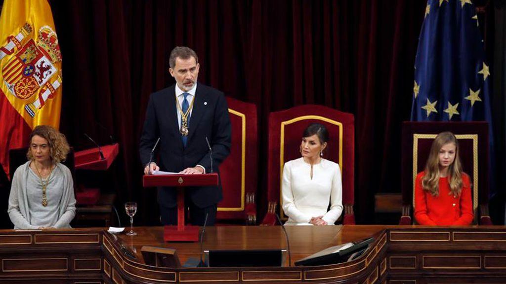 El rey dice que España no puede ser de unos contra otros