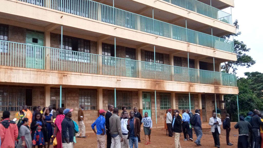 Estampida en Kenia