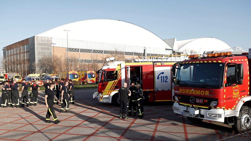 Todos los servicios de Emergencias, preparados en Barajas para el aterrizaje de emergencia del avión de Air Canada