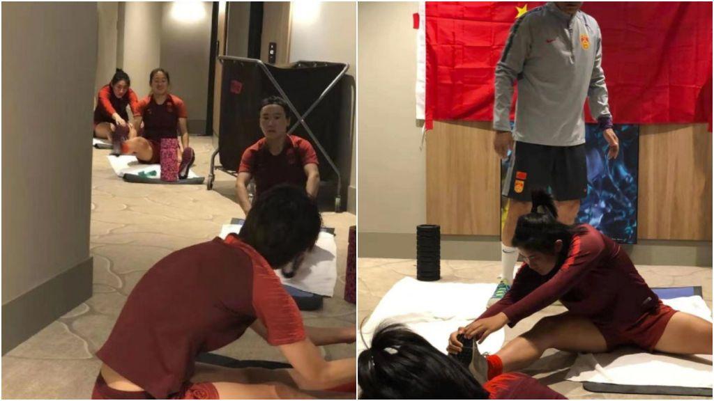 La selección femenina de China, obligada a entrenar dentro de un hotel debido a su aislamiento por cuarentena