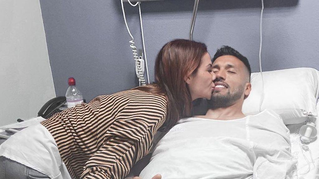 """La preocupación de Tamara Gorro durante la operación de Ezequiel Garay: """"Estoy intentando controlar mis nervios"""""""