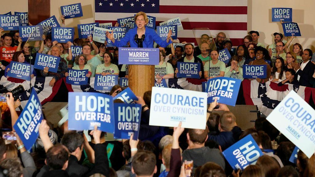 Trump se burla de los demócratas tras el fiasco del caucus de Iowa