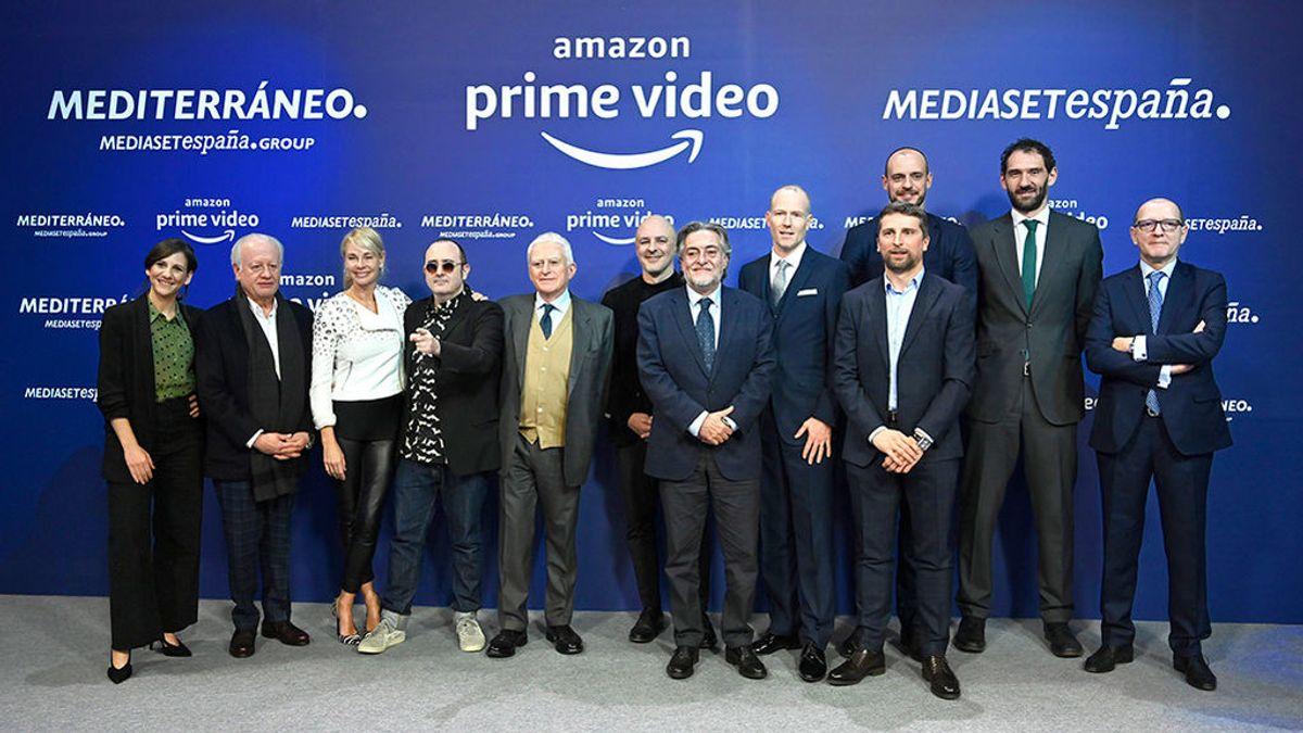 Amazon Prime Video estrenará en primicia las series de Mediaset España 'Madres' y 'Caronte'