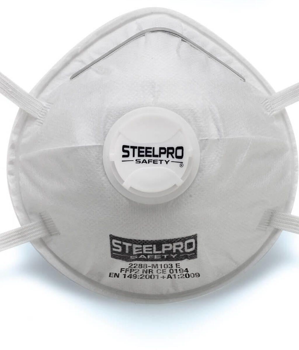 Mascarilla Steelpro FFP2 Con Válvula