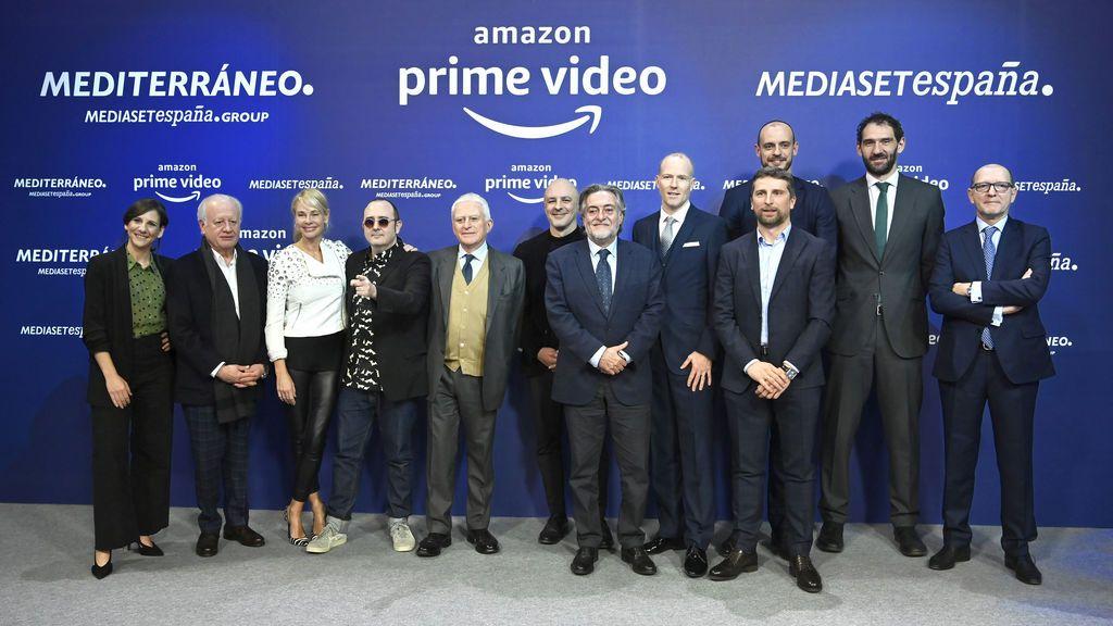 Amazon Prime Video estrenará en exclusiva cuatro series y dos programas de entretenimiento tras un acuerdo de contenidos con Mediterráneo Mediaset España Group