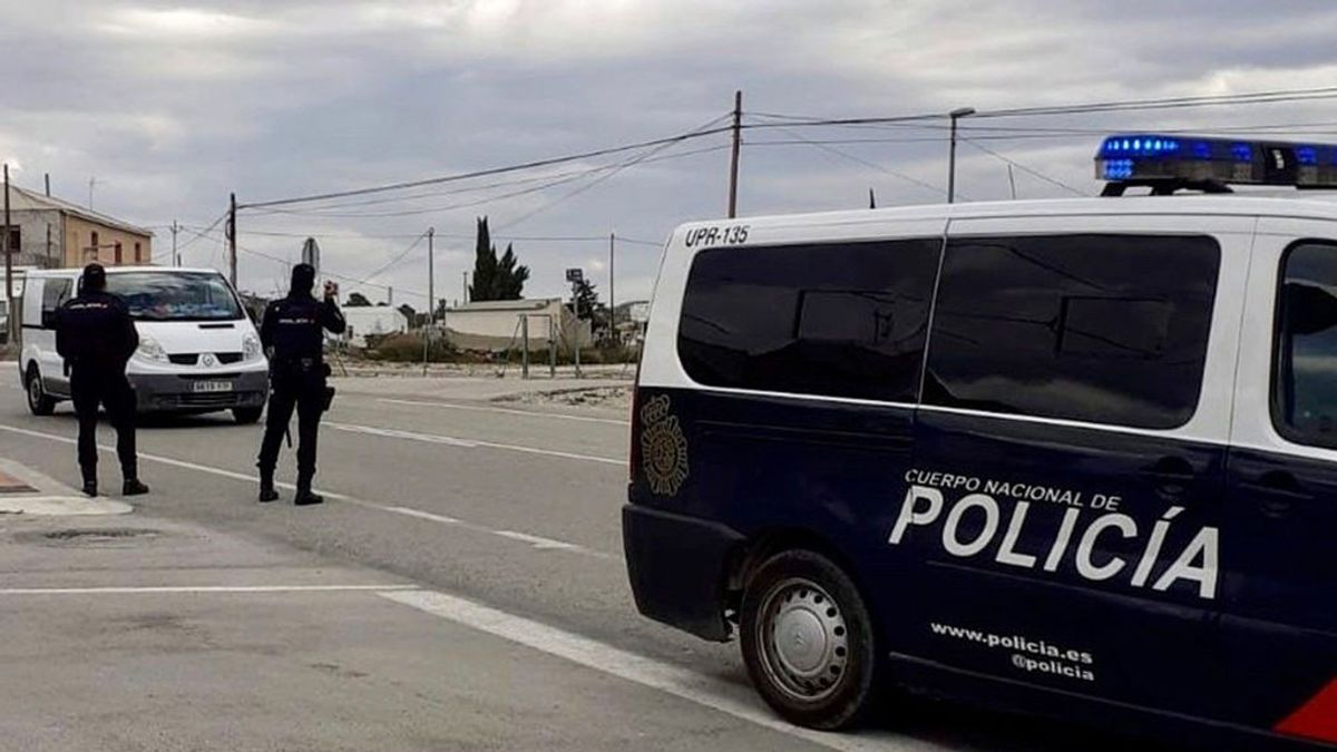 Detenido El Churrita, un joven alucinero con 30 antecedentes, tras intentar huir de la Policía y herir a varios agentes